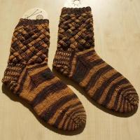 SchokoKaramell Socks
